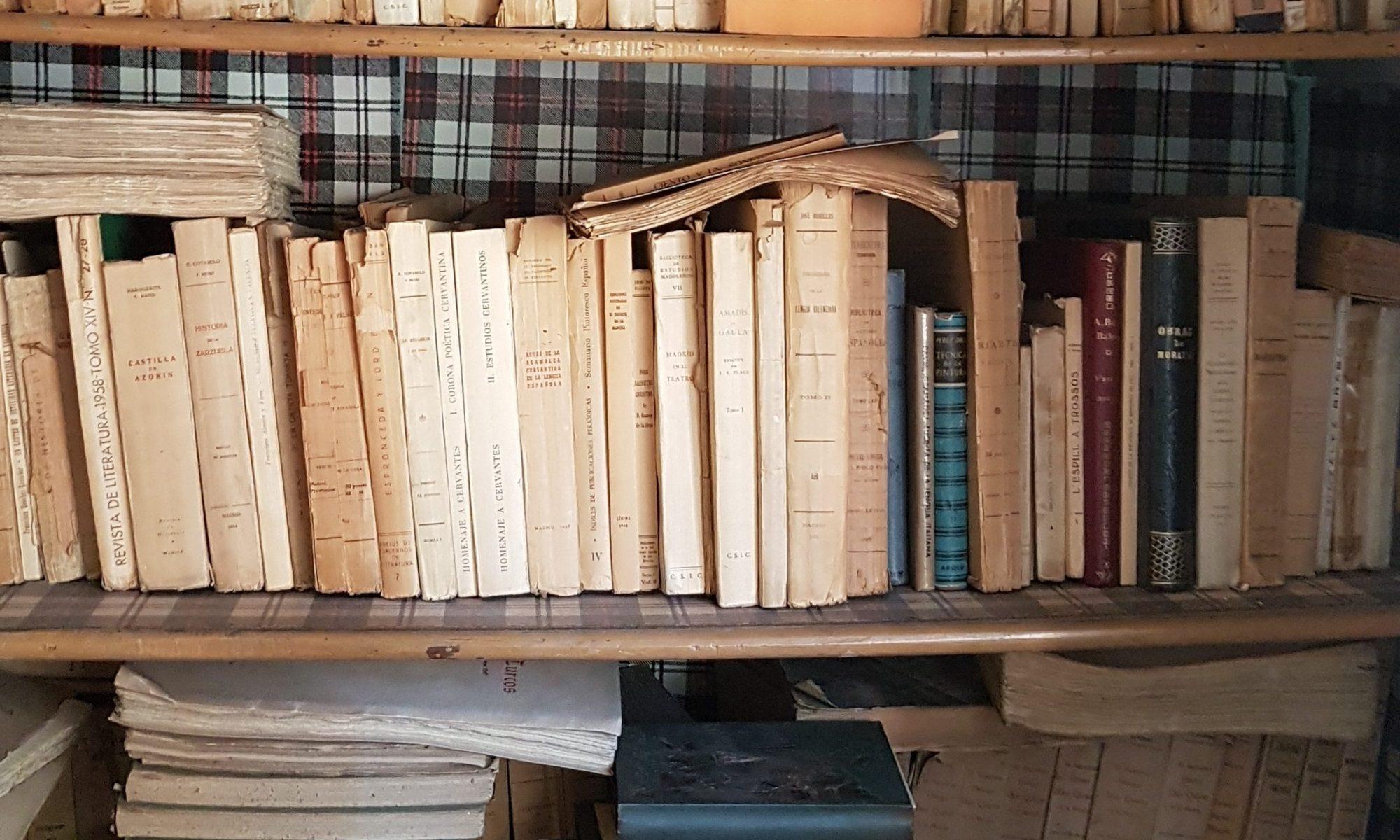 Biblioteca de Eduardo Juliá Martínez